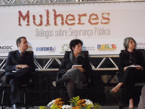 Mulheres: Dialogo sobre segurança pública